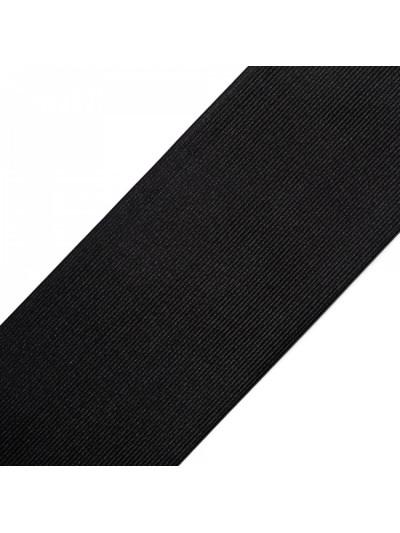 Резинка 60 мм, цвет черный