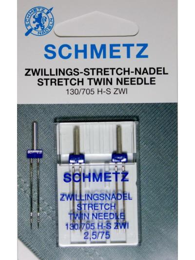 Schmetz Двойная 2,75 №75 Стрейч