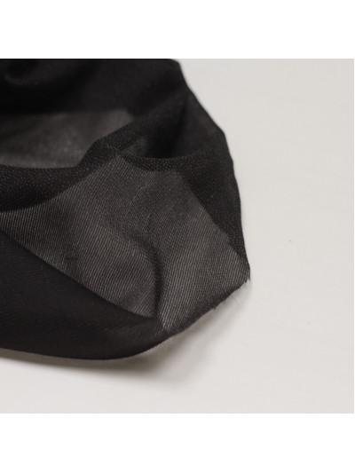 Дублерин, трикотажный стрейч, пл. 40 гр/кв.м, черный