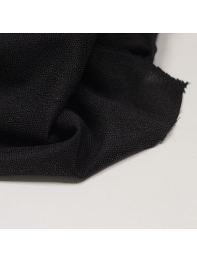 Дублерин, трикотажный стрейч, пл. 72 гр/кв.м, черный