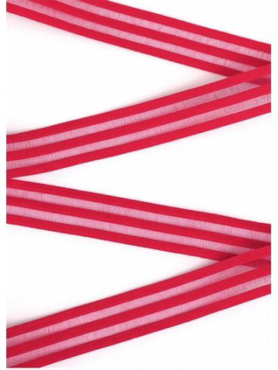 Резинка декоративная цв. красный 20мм