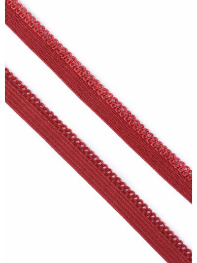 Резинка бельевая ажурная (красный) 10 мм