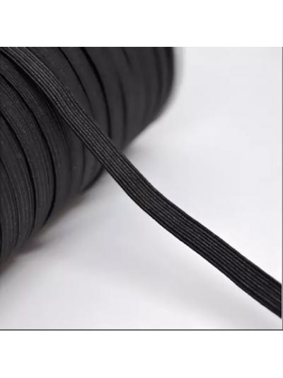 Резинка 15 мм, цвет черный
