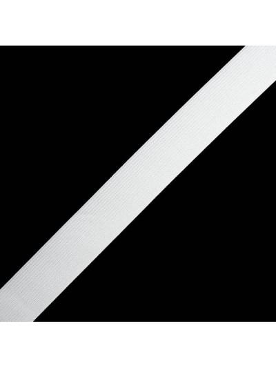 Резинка 30 мм, цвет белый