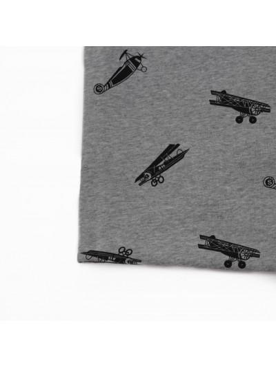 """Футер 3-х нитка """"Серый самолёт»"""