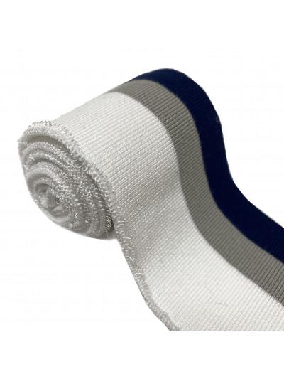 Подвяз трикотажный (син, сер, бел)