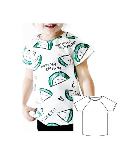"Детская футболка ""Злата"" (Размер 86-146)"